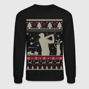 Golf Ugly Christmas - Crewneck Sweatshirt