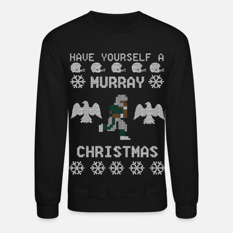 Christmas Hoodies & Sweatshirts - Murray Christmas - Unisex Crewneck Sweatshirt black