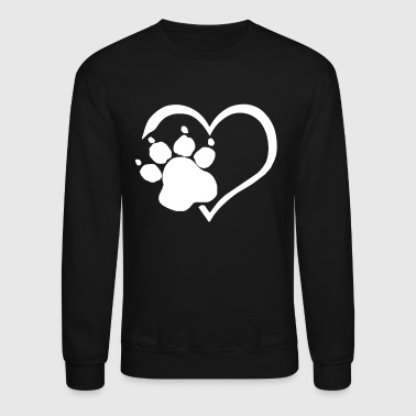 PAW PRINTS ON MY HEART SHIRT - Crewneck Sweatshirt