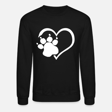Paw Print PAW PRINTS ON MY HEART SHIRT - Crewneck Sweatshirt