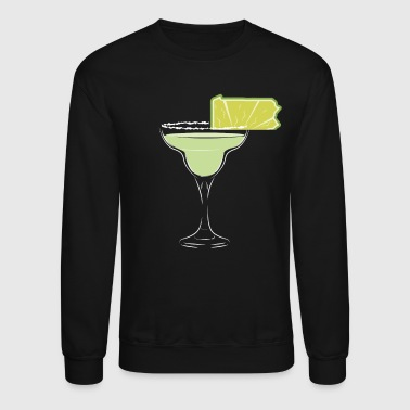 Pennsylvania Lime Margarita July 4th Funny Margarita Tee - Crewneck Sweatshirt
