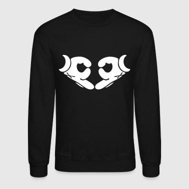 Mickey Hands - xo - Crewneck Sweatshirt