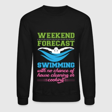 Swimming Forecast - Crewneck Sweatshirt