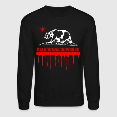 CALIFORNIA Republic Melting - Crewneck Sweatshirt