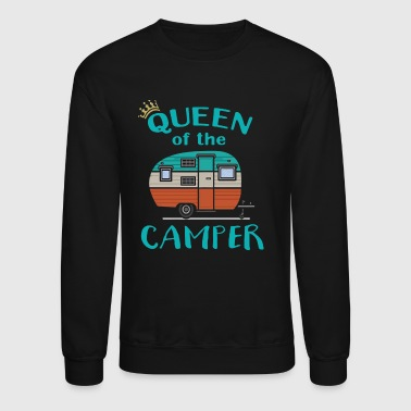 Queen of the Camper - Crewneck Sweatshirt