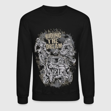 Motor Sports Dream Riding - Crewneck Sweatshirt