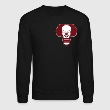 pennywise light bulb Burgundy - Crewneck Sweatshirt