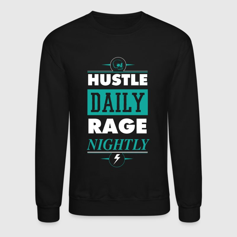 Hustle Daily - Crewneck Sweatshirt