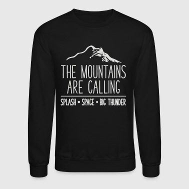 Mount Mount are - Crewneck Sweatshirt