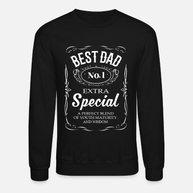 Best Dad BEST DAD SHIRT - Crewneck Sweatshirt