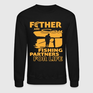 FATHER AND SON FISHING T SHIRT - Crewneck Sweatshirt