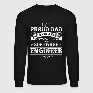 Software Engineer Dad - Crewneck Sweatshirt