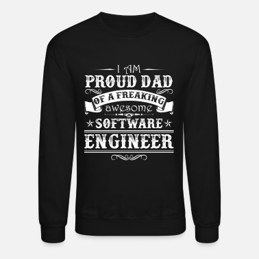 Best Dad Software Engineer Dad - Crewneck Sweatshirt