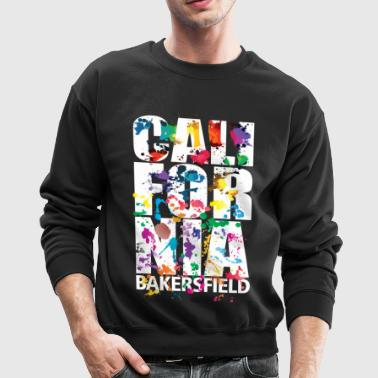 bakersfield_air_brush - Crewneck Sweatshirt