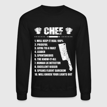 Chef Chef T-Shirts - Crewneck Sweatshirt