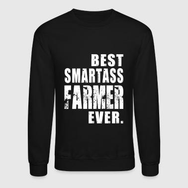 Farmer Best Smartass Farmer Ever - Crewneck Sweatshirt