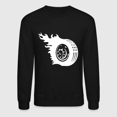 Tire Car Wheel1 - Crewneck Sweatshirt