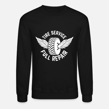 Car Tires Tire Car - Crewneck Sweatshirt