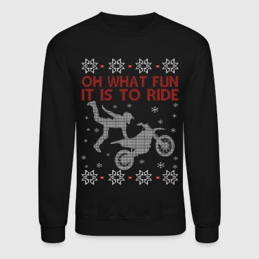 Dirtbike Christmas - Crewneck Sweatshirt