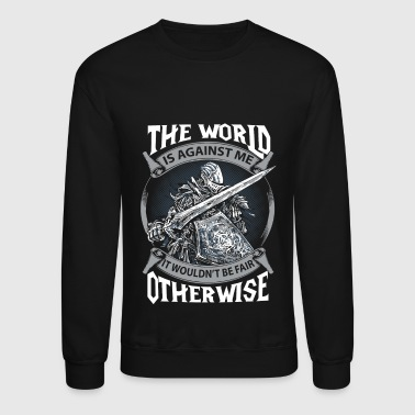 The dark souls - The world is against me - Crewneck Sweatshirt