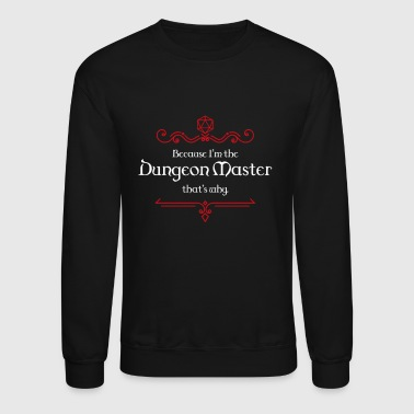 Dungeon Master Dungeons and Dragons Inspired - Crewneck Sweatshirt