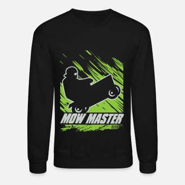 Lawn Lawnmower Race Mow Master - Crewneck Sweatshirt