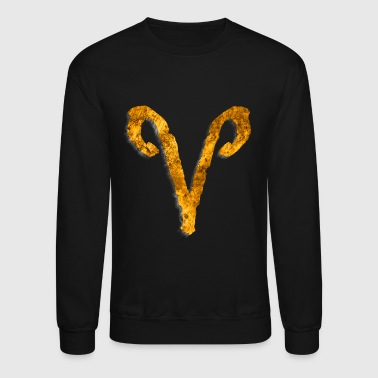 Aries Astrological Sign [3] Persephone Productions - Crewneck Sweatshirt