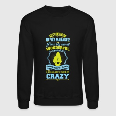 Wonderful Office Manager - Crewneck Sweatshirt