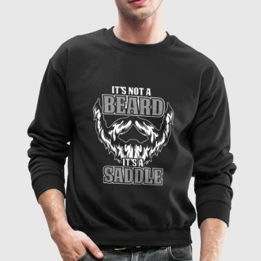 Beard Saddle Shirt - Crewneck Sweatshirt