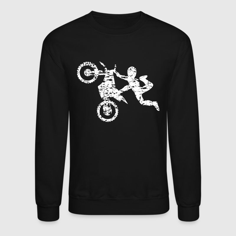 Freestyle Dirt Bike Shirt - Crewneck Sweatshirt