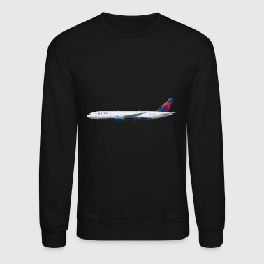 Delta pilot delta just keep climbing - Crewneck Sweatshirt