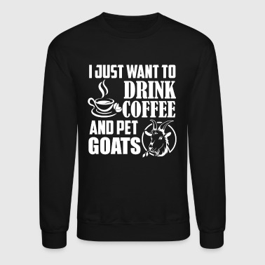 Coffee And Goats Shirt - Crewneck Sweatshirt