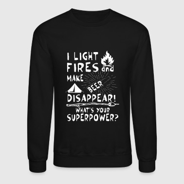 Make beer disappear! What's your superpower? - Crewneck Sweatshirt
