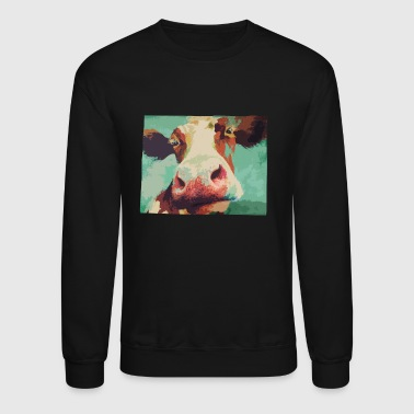 Cow Farm Cow - Crewneck Sweatshirt