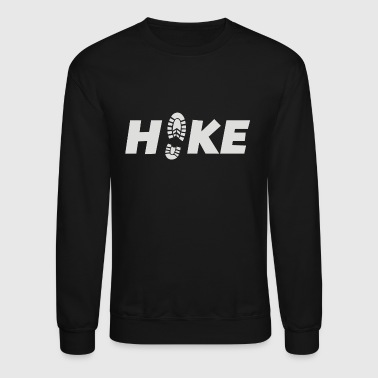 Lets Hike Outdoors And Camp - Crewneck Sweatshirt
