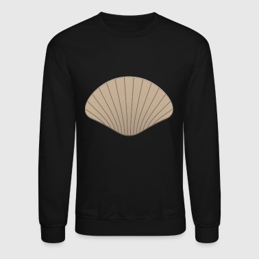 Scallop Shell Conch Clam Mussels Mussel Gift Cower - Crewneck Sweatshirt