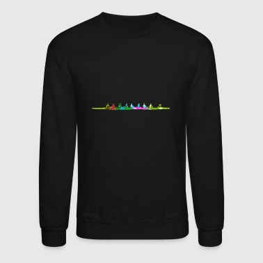 Colorful Eighth Rowing Boat - Crewneck Sweatshirt