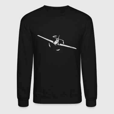 P51 world war ii airplane - Crewneck Sweatshirt