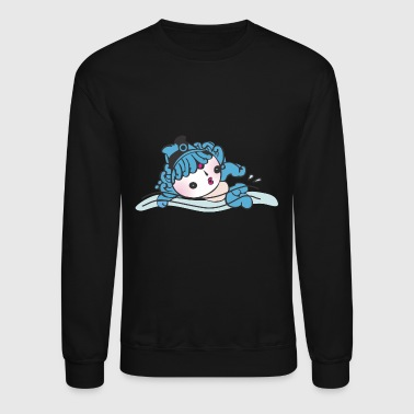 Swimming Quotes Swimming - Crewneck Sweatshirt