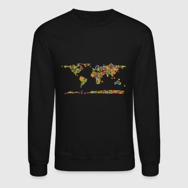 World Map World map - Crewneck Sweatshirt
