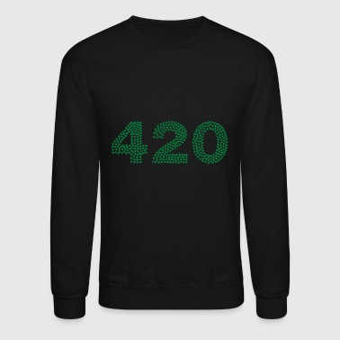 420 stoner time - Crewneck Sweatshirt