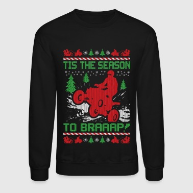 Christmas ATV Quad Christmas - Crewneck Sweatshirt