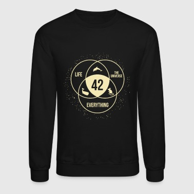 Universe - the answer to life universe and every - Crewneck Sweatshirt
