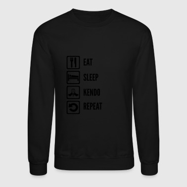 Kendo - Daily routine kendo for kendo lovers - Crewneck Sweatshirt