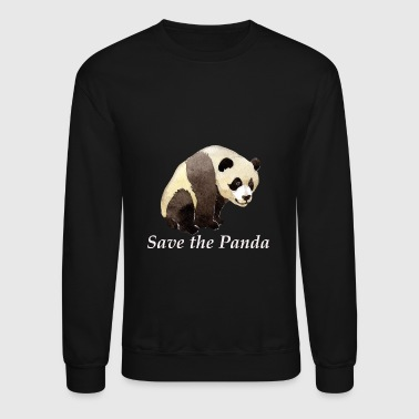 Greenpeace save the panda greenpeace animal bear - Crewneck Sweatshirt
