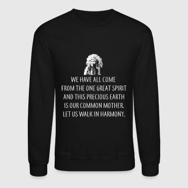 Native american - Native Spirit - Crewneck Sweatshirt