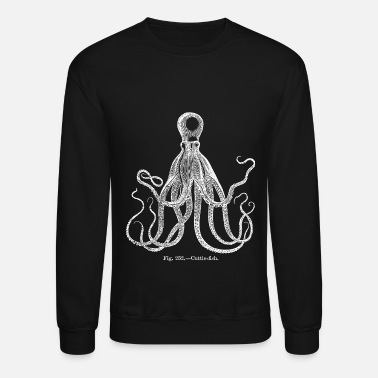 Antique octopus antique - Crewneck Sweatshirt