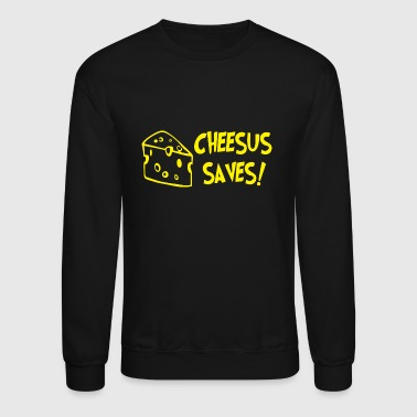 Cheese CHEESE christmas - Crewneck Sweatshirt