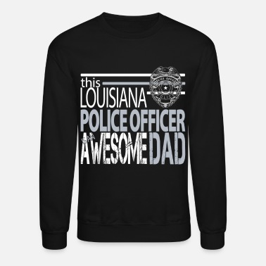 New Orleans New Orleans Police Department Dad New Orleans Police Dad - Crewneck Sweatshirt