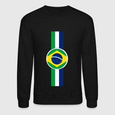 Brazil Brazil modernized flag shirt design - Crewneck Sweatshirt
